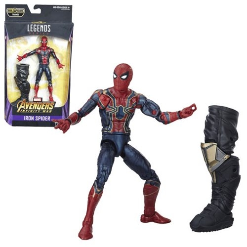 Iron Spider Actionfigur - Avengers: Infinity War Marvel Legends Wave 1