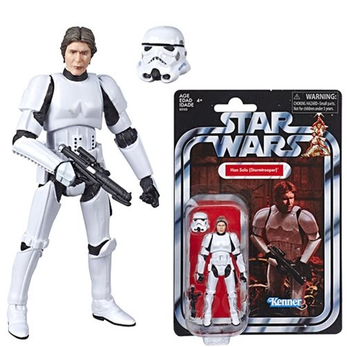 Star Wars The Vintage Collection Han Solo (Stormtrooper) Action Figure VC143 Exclusive