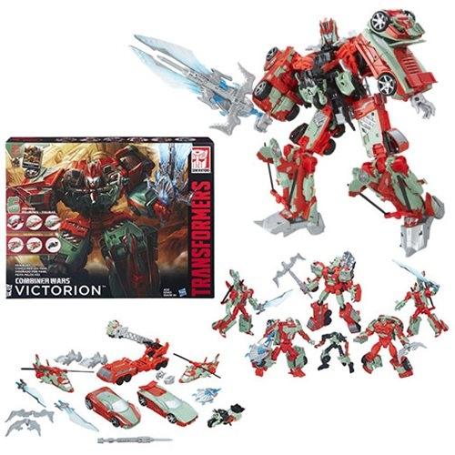 Transformers Combiner Wars Victorion Torchbearers Boxed Set - Fan's Choice