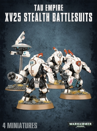 T'au Empire - XV25 Stealth Battlesuits