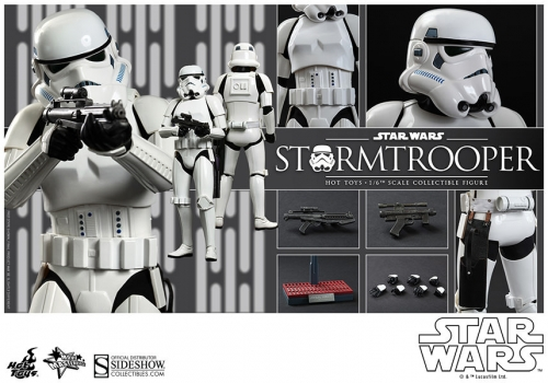 Stormtrooper Episode IV A New Hope Movie Masterpiece 1/6 Actionfigur