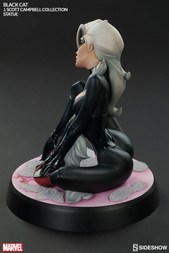 Black Cat Polystone Statue 23 cm - J. Scott Campbell Spider-Man Collection