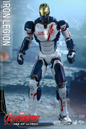 Avengers Age of Ultron Iron Legion Movie Masterpiece Actionfigur 1/6 31 cm