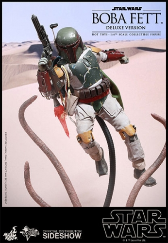 Boba Fett Deluxe Version Movie Masterpiece Actionfigur 1/6 30 cm