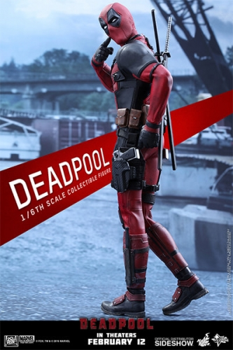 Deadpool Movie Masterpiece Actionfigur 1/6 31 cm
