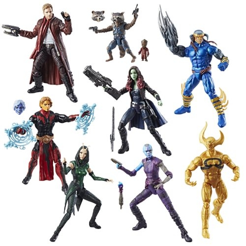 Guardians of the Galaxy Marvel Legends Wave 2 Actionfiguren Sortiment
