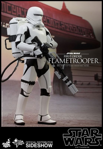 First Order Flametrooper Movie Masterpiece 1/6 Actionfigur