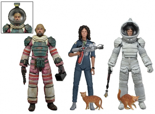 Alien Serie 4 Set (3) Actionfiguren