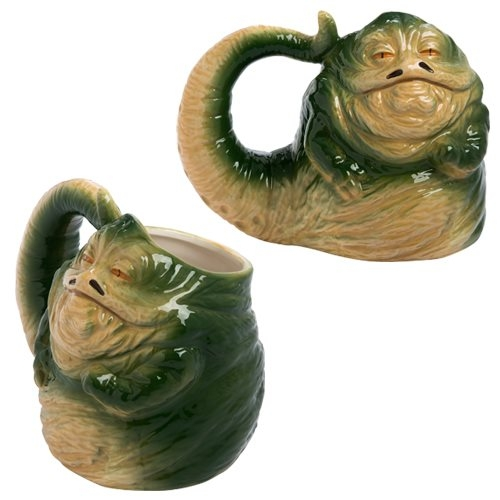 Star Wars Jabba the Hutt 20 oz. Sculpted Mug