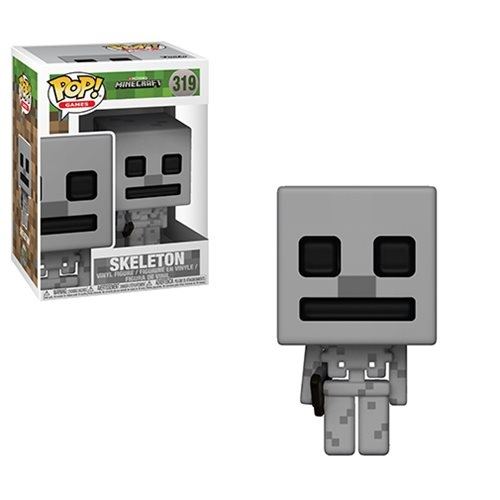 Minecraft POP! Games Vinyl Figur Skeleton 9 cm
