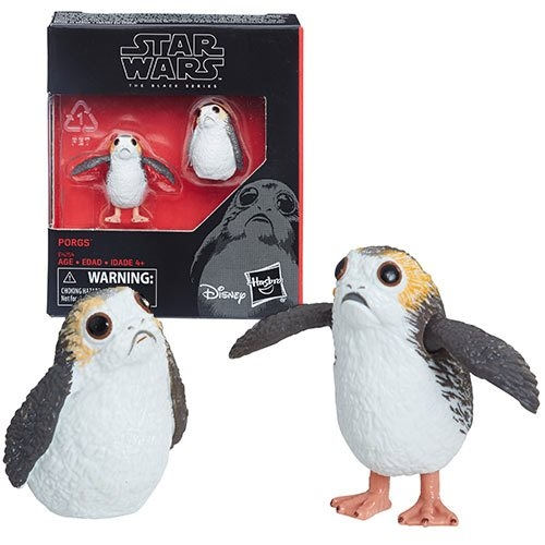 Porg Actionfiguren Set