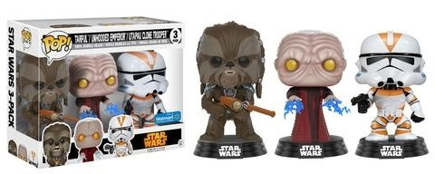 Star Wars POP! Vinyl Figuren 3er-Pack 2017 Fall Convention Exclusive 9 cm