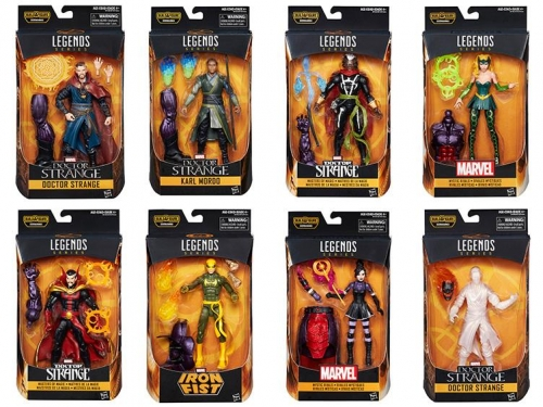 Doctor Strange Marvel Legends Action Figuren Sortiment