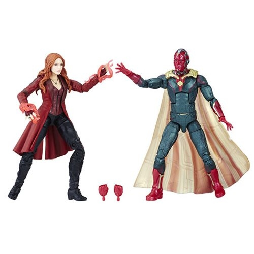 Marvel Legends Vision and Scarlet Witch 6-Inch Action Figures 2-Pack - Toys R Us Exclusive