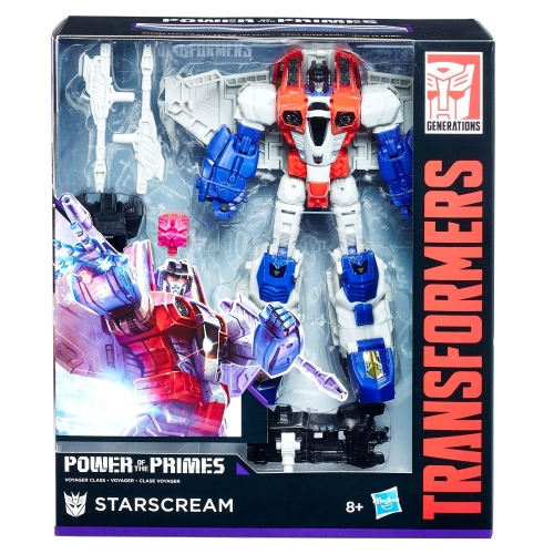 Transformers Generations Power of the Primes Voyager Starscream