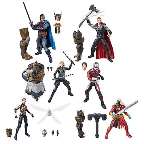 Avengers: Infinity War Marvel Legends Wave 2 2018 Actionfiguren 15 cm Sortiment