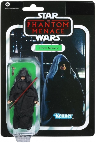 Star Wars The Phantom Menace Vintage Collection 2012 Darth Sidious Action Figure VC79