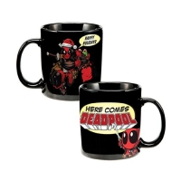Deadpool with Santa Hat Holiday 20 oz. Ceramic Mug