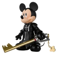 Kingdom Hearts II King Mickey SH Figuarts Action Figure
