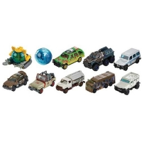 Jurassic World: Fallen Kingdom Matchbox Die-Cast Fahrzeug Set