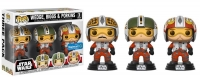 Star Wars POP! Vinyl Figuren 3er-Pack Wedge, Biggs & Porkins 9 cm