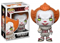 Es 2017 POP! Movies Vinyl Figur Pennywise with Boat 9 cm