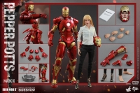 Pepper Potts & Mark IX Movie Masterpiece 1/6 Actionfiguren Doppelpack