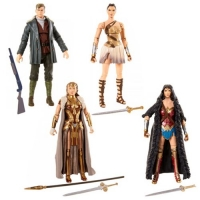 DC Multiverse Wonder Woman Movie 6-Inch Action Figure Set