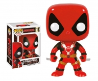 Deadpool with Swords Marvel Comics POP! Vinyl Wackelkopf 10 cm
