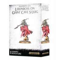 Gloomspite Gitz - Loonboss on Giant Cave Squig