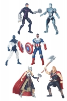 Marvel Legends 3 3/4-Inch Comic Packs Actionfiguren Set Wave 1 2016