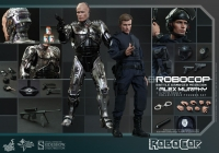 RoboCop Battle Damaged Version & Alex Murphy Movie Masterpiece 1/6 Actionfiguren Set