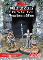 D&D Collector's Series: Elemental Evil - Marlos Urnrayle & Earth Priest