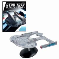 Star Trek Starships Thunderchild Akira Class XL Edition Vehicle with Collector Magazine