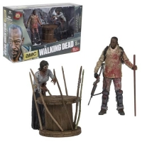 The Walking Dead TV Version Morgan & Walker Deluxe Actionfiguren Box Set 13 cm