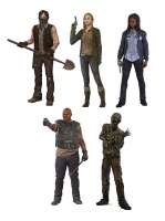 The Walking Dead TV Version Serie 9 Actionfiguren Set 15 cm
