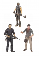 The Walking Dead TV Version Serie 7.5 Actionfiguren Set 13 cm