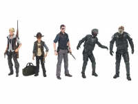 The Walking Dead TV Version Serie 4 Actionfiguren Set 13 cm