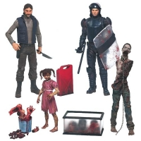 The Walking Dead Comic Version Serie 2 Actionfiguren Set 13 cm