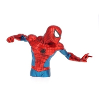 Spider-Man Metallic Bust Bank (Spardose)