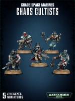 Chaos Space Marines - Chaos Cultists (Easy to Build)