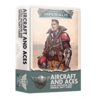 Aeronautica Imperialis - Aircraft and Aces – Astra Militarum and Imperial Navy Cards (Englisch)