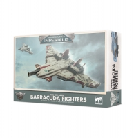 Aeronautica Imperialis - Barracuda Fighters der T'au-Luftkaste