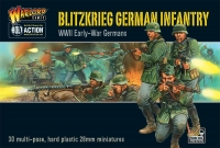 Blitzkrieg German Infantry (Plastic Kit)