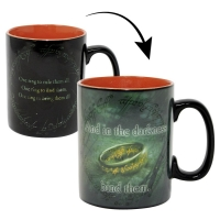 Lord of the Rings Thermoeffekt Tasse Sauron