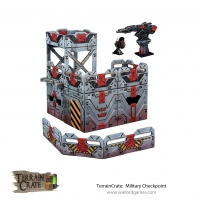 Terrain Crate - Military Checkpoint