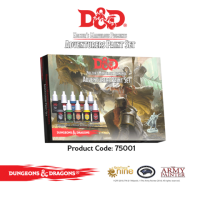 Dungeons and Dragons Adventurers Paint Set