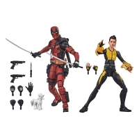 Deadpool Marvel Legends Actionfiguren 2er-Pack 2020 Deadpool & Negasonic Teenage Warhead 15 cm