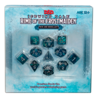 D&D - Icewind Dale: Rime of the Frostmaiden Dice Set
