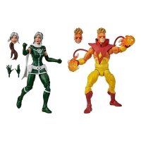 X-Men Marvel Legends Actionfiguren Doppelpack Marvel's Rogue & Marvel's Pyro 15 cm